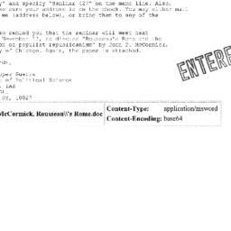 Correspondence, 2005-11-17....