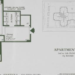 2 Fifth Avenue, Apartment H