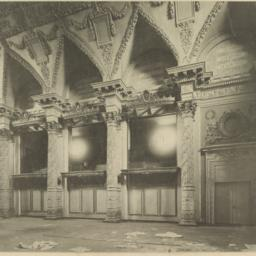 Interior of banquet-hall, N...