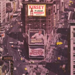 View of New Kinsey Sign on ...
