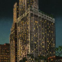 Woolworth Building at Night...