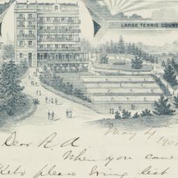 Manuscript letter, signed, ...