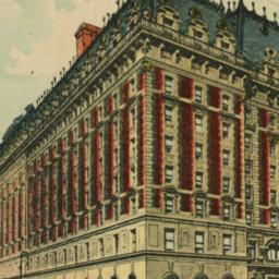 Astor Hotel, N.Y. City
