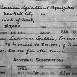 Carnegie General Donations,...