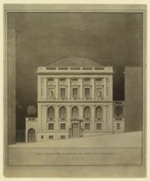 The American Academy of Arts and Letters. South elevation. McKim, Mead & White, Architects