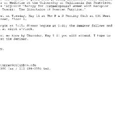Announcements, 2002-05-14. ...