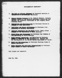 Carnegie-Myrdal Study, Supplementary Memoranda, June 10, 1941