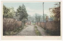 9188. Serpentine Wall, U of Va, Charlottesville, VA