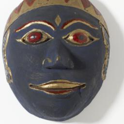 Javanese Dance Mask (male)