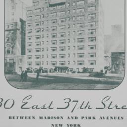 30 E. 37 Street