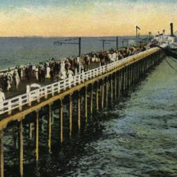 The     Iron Steamboat Pier...