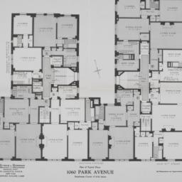 1060 Park Avenue, Plan Of T...
