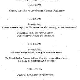 Announcements, 2002-09-21. ...