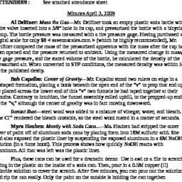 Minutes, 2009-04-03. Scient...