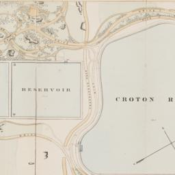 Map of the Central Park sho...