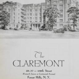 The     Claremont, 68-37 10...