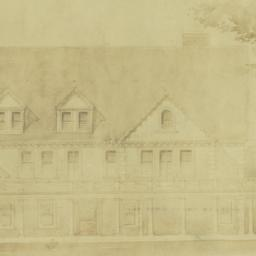 Cheney [house, elevation]