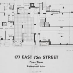 177 E. 75 Street, Plan Of S...