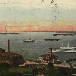 Aquarium & New York Harbor,...