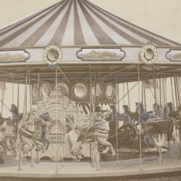 Carousel with W. F. Mangels...