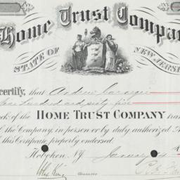 Carnegie Home Trust Company...
