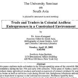 Announcements, 2002-04-15. ...