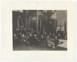 Governor Franklin Roosevelt with New York State Departmental Heads