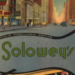 """Solowey's """"Known for Its Ex..."""
