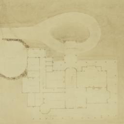 [Cheney house, plan]