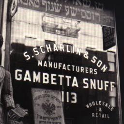 New York, 1938 Snuff Shop, ...
