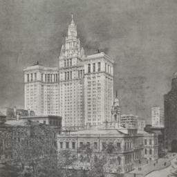 Design for the City Hall, N...