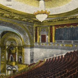 Interior View of Loew's Sta...