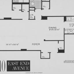 "10 East End Avenue, ""m"" 2nd..."