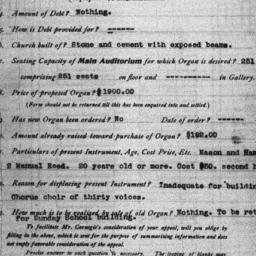 Carnegie Church Organs, Flu...