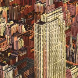 An     Air View, Rockefelle...