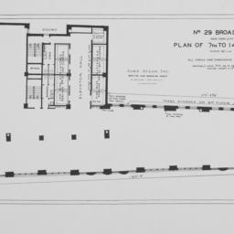 29 Broadway, Plan Of 7th To...