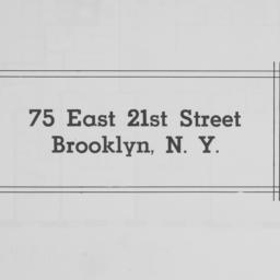 75 East 21st Street