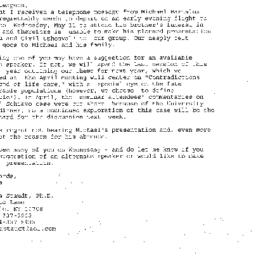 Correspondence, 2005-05-11....