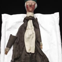 Elderly Male Hand Puppet Wi...