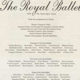 Royal Opera House, Convent ...