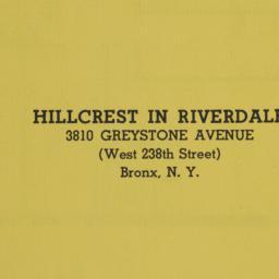 Hillcrest In Riverdale, 381...