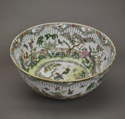 Chinese Exportware Bowl, Top