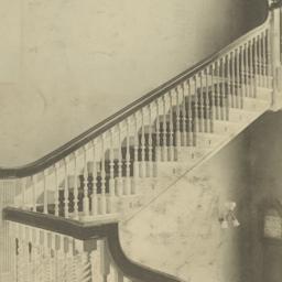 Staircase: Harvard Club-Hou...