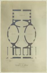 Basement Plan. Library Building, University of Virginia. McKim, Mead & White Arch'ts. 160 Fifth Ave. NY