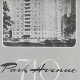 710 Park Avenue, Plan Of 16...