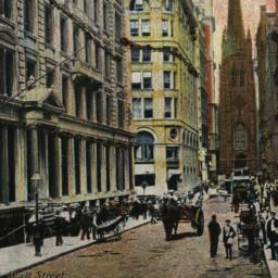 New York. Wall Street.