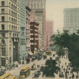 Broadway Near City Hall, N....