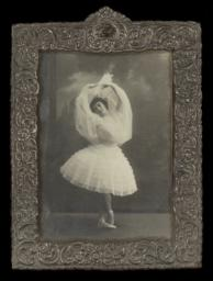 Anna Udal'tsova in Ballet Pose and Outfit