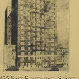 425 East Eighty-sixth Street