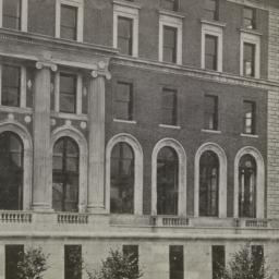 Detail of 116th Street faça...
